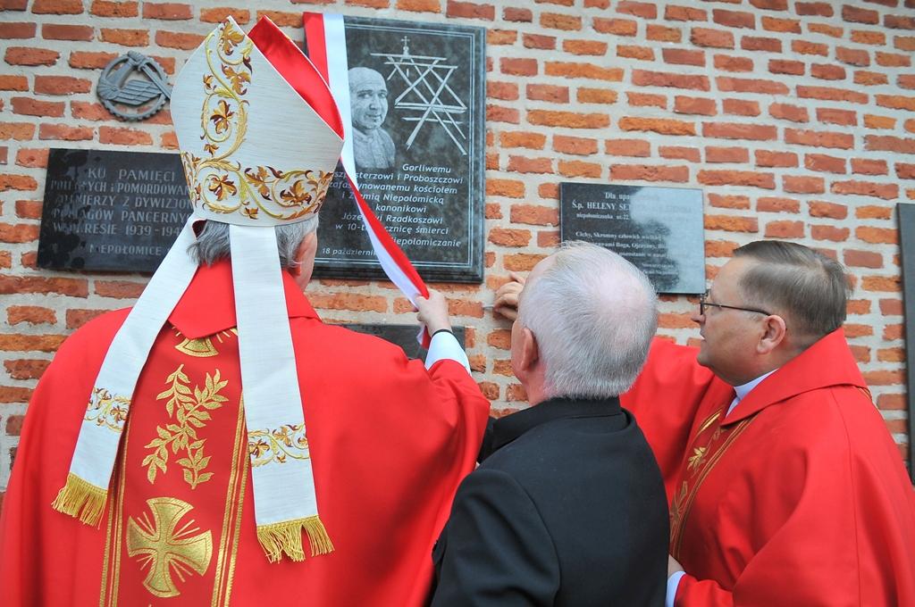 10. rocznica śmierci ks. Józefa Rzadkosza 18.10.2014r.