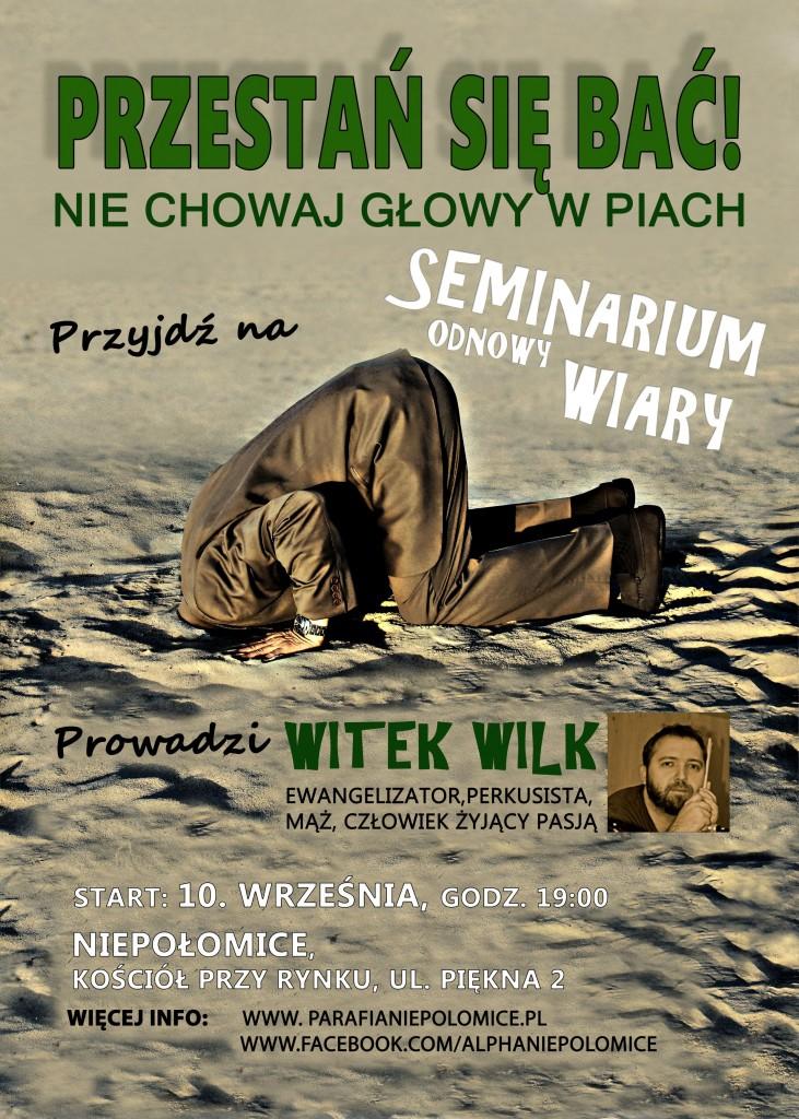 Seminarium Odnowy Wiary od 10. września o 19.00