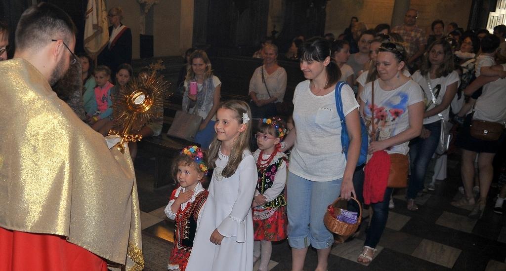 Błogosławieństwo Dzieci,   uroczystość NSPJ